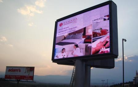 Наружная и ТВ реклама для Интернет-компаний.